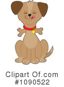 Royalty-Free (RF) Dog Clipart Illustration #1090522