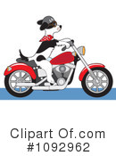 Royalty-Free (RF) Dog Clipart Illustration #1092962
