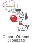 Royalty-Free (RF) Dog Clipart Illustration #1095293
