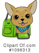 Royalty-Free (RF) Dog Clipart Illustration #1096313