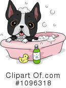 Royalty-Free (RF) Dog Clipart Illustration #1096318
