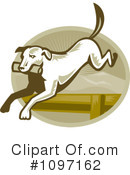 Royalty-Free (RF) Dog Clipart Illustration #1097162