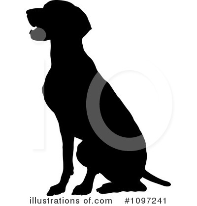 Pointer Dog Clipart #1097241 by Maria Bell