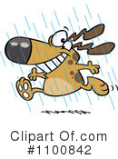 Dog Clipart #1100842 by toonaday