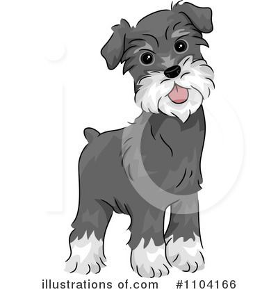 Schnauzer Clipart #1104166 by BNP Design Studio