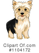 Royalty-Free (RF) Dog Clipart Illustration #1104172