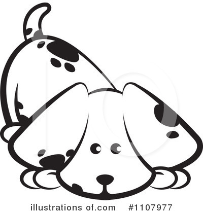 Dog Clipart #1107977 by Lal Perera