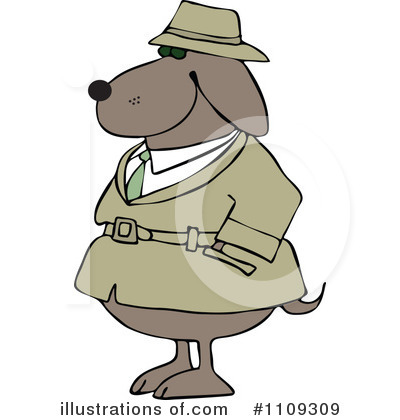 Detective Clipart #1109309 by djart