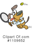 Royalty-Free (RF) Dog Clipart Illustration #1109652