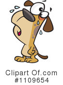 Royalty-Free (RF) Dog Clipart Illustration #1109654