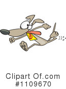 Royalty-Free (RF) Dog Clipart Illustration #1109670