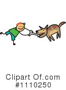 Royalty-Free (RF) Dog Clipart Illustration #1110250
