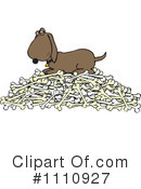 Royalty-Free (RF) Dog Clipart Illustration #1110927
