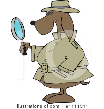 Detective Clipart #1111311 by djart