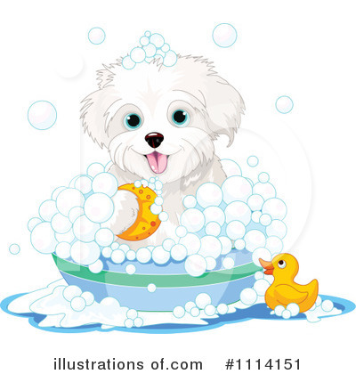 Royalty-Free (RF) Dog Clipart Illustration by Pushkin - Stock Sample