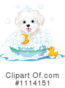Royalty-Free (RF) dog Clipart Illustration #1114151