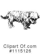 Royalty-Free (RF) Dog Clipart Illustration #1115126