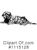 Royalty-Free (RF) Dog Clipart Illustration #1115128
