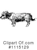 Royalty-Free (RF) Dog Clipart Illustration #1115129