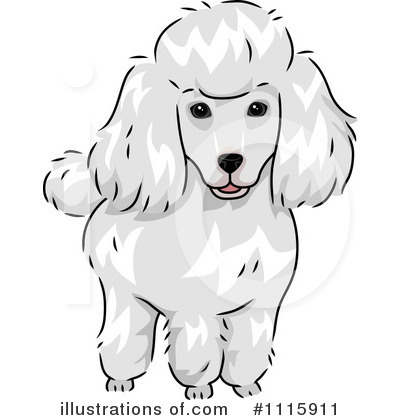 Poodle Clipart #1115911 by BNP Design Studio
