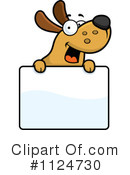 Royalty-Free (RF) Dog Clipart Illustration #1124730