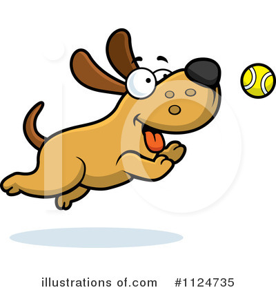 Royalty-Free (RF) Dog Clipart Illustration by Cory Thoman - Stock Sample #1124735