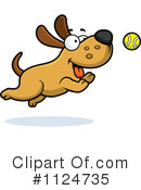 Royalty-Free (RF) Dog Clipart Illustration #1124735