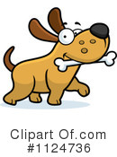 Royalty-Free (RF) Dog Clipart Illustration #1124736