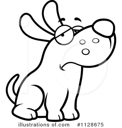 Royalty Free (RF) Dog Clipart Illustration #1128675 By Cory Thoman