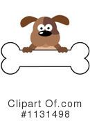 Royalty-Free (RF) Dog Clipart Illustration #1131498