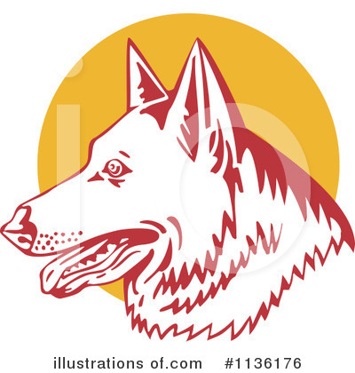 German Shepherd Clipart #1136176 by patrimonio