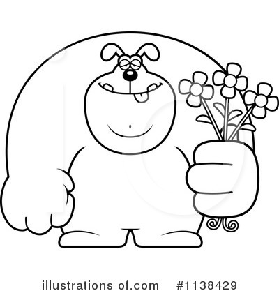 Giving Flowers Clipart #1138429 by Cory Thoman