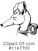 Royalty-Free (RF) dog Clipart Illustration #1147703