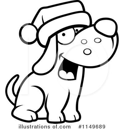 Royalty-Free (RF) Dog Clipart Illustration by Cory Thoman - Stock Sample #1149689