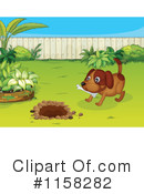 Royalty-Free (RF) Dog Clipart Illustration #1158282