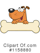 Royalty-Free (RF) Dog Clipart Illustration #1158880