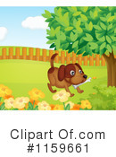 Royalty-Free (RF) Dog Clipart Illustration #1159661