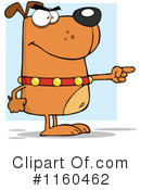 Royalty-Free (RF) Dog Clipart Illustration #1160462