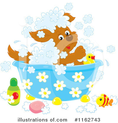 Puppy Clipart #1162743 by Alex Bannykh