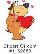 Royalty-Free (RF) Dog Clipart Illustration #1162883