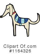 Royalty-Free (RF) Dog Clipart Illustration #1164326
