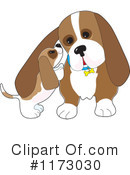 Dog Clipart #1173030 by Maria Bell