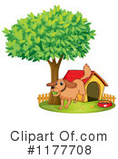 Royalty-Free (RF) Dog Clipart Illustration #1177708