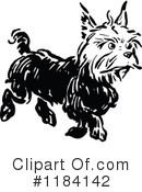 Royalty-Free (RF) Dog Clipart Illustration #1184142