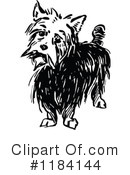 Royalty-Free (RF) Dog Clipart Illustration #1184144