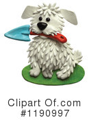 Royalty-Free (RF) Dog Clipart Illustration #1190997