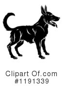 Royalty-Free (RF) Dog Clipart Illustration #1191339