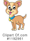 Royalty-Free (RF) Dog Clipart Illustration #1192961