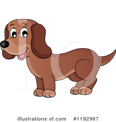 Dog Clipart #1192967 by visekart