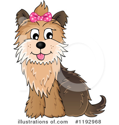 Dog Clipart #1192968 by visekart